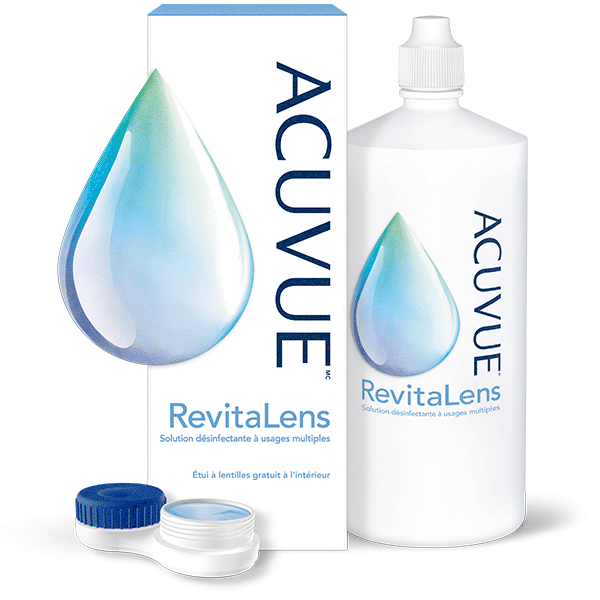 Solution désinfectante à usages multiples ACUVUEMC RevitaLens