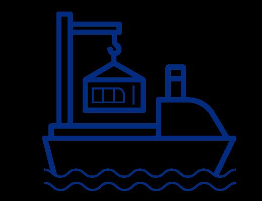 icône de fret maritime